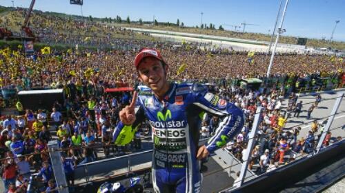 Bagaimana kelanjutan motogp hasil dari penalty Valentino Rossi ??
